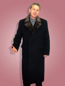 Двубортное удлинённое зимнее пальто, ателье пошив Ставрополь