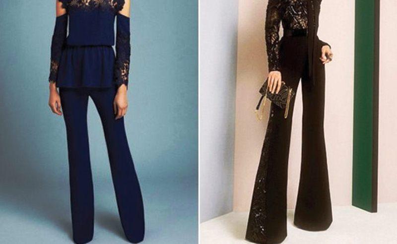 Пошив в ателье модные женские брюки