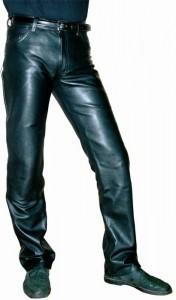 Модель кожаных брюк, пошив в ателье на заказ, Ставрополь