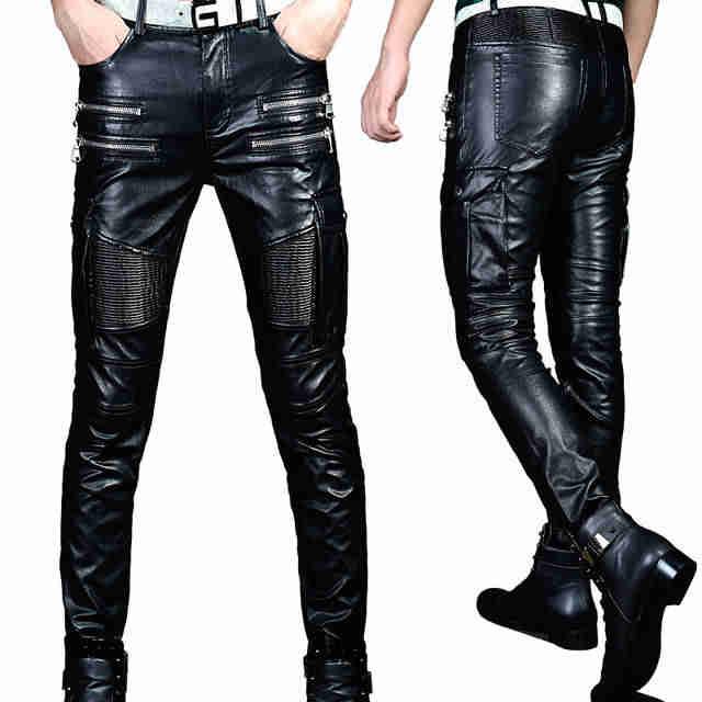 Мужские кожаные брюки, пошив на заказ в ателье Ставрополя