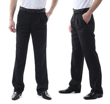Мужские летние брюки классического кроя